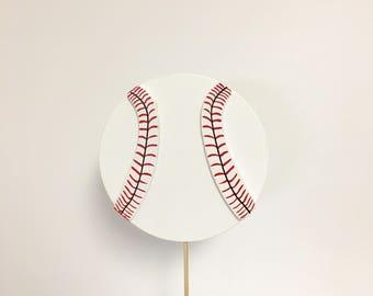 Baseball Baby Shower. Sports Baby Shower Diaper Cake Topper. Wooden Cake Toppers. Diaper Cake Decor. Baby Boy Shower Decor. Baseball Decor.