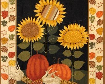 Patchwork/decorative painting autumn fabric 60 X 109 CM