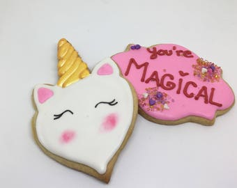 Unicorn Magical Cookies Dozen