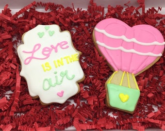 Love is in the Air Cookies Gift Set