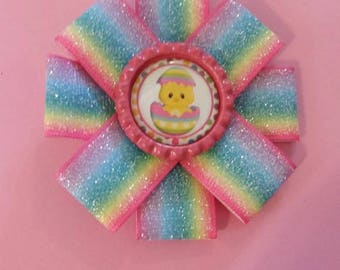 3 inch Easter hair clip