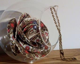 Vintage Sanderson bauble flower