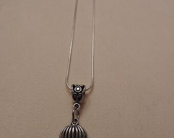 Hot air balloon, Jules Verne Steampunk necklace