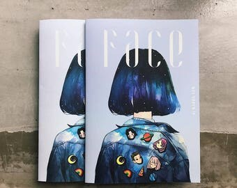 Watercolor Artbook <Face> Limited Edition