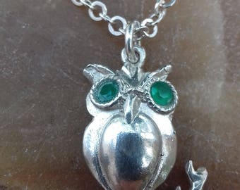 Pendant owl silver 925 jewellery pendant, womens jewellery.sales jewellery gift birthday gift sale