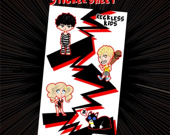 Persona 5 Stickers - Reckless Kids
