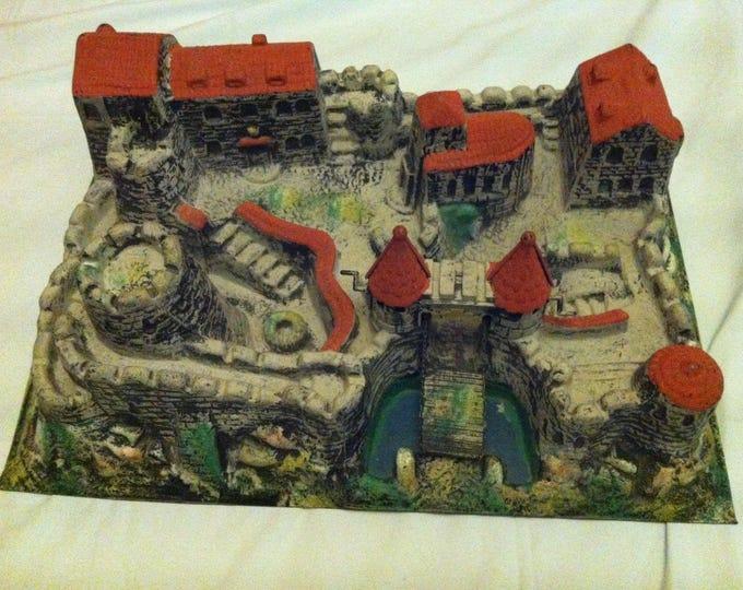 Vintage German Knights Castle for Elastolin / Lineol Figures good condition