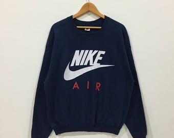 Rare !!! Vintage Nike air big logo sweatshirt