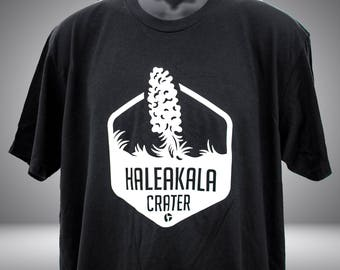 Haleakala Crater t-shirt - Black