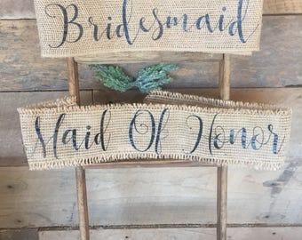 Private listing for Kaiser Bridal sashes