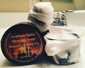Shaving Soap 4oz Jar