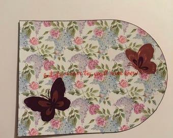 Butterfly artcard
