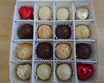 Deluxe Belgian Chocolate Box - Gift - Birthday - Wedding - Hen Party - Anniversary - Christmas - Valentines