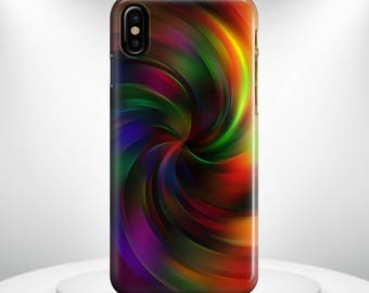 iPhone X Case Rainbow Abstract Design 3 Phone case   iPhone 8 Case 6 iPhone 8 PLUS Case iPhone 10 Case iPhone 7 Case iPhone 7 plus Case Gift