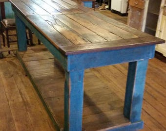 Workbench, Table Vintage Country Industrial Design
