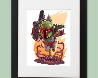 Boba Fett Wall Art