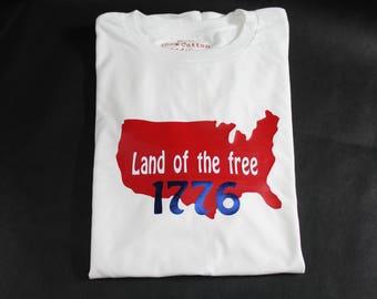 4th of July men's t-shirt