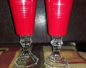 Red Solo Cup Wine Glasses - Set of 2