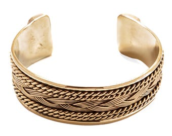 WINDALF Wide Women Bangle FANIA Ø 5.8 cm Vikings Viking Jewelry Bronze