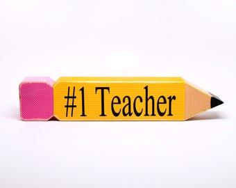 Teacher Gift, #1 Teacher , Great Teacher Gift, Teacher Appreciation Gift, Back To School, Teacher Gift Ideas