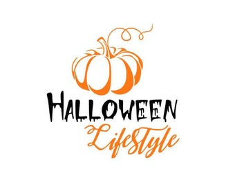HALLOWEEN LIFESTYLE; Decal; Love Halloween; Fall; Love Autumn; Great gift! Fast Processing!