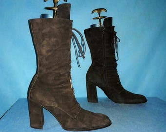boots luxury ALBERTO FERMANI 100% leather p 41 en very good condition