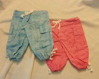 "Deck Capris for American Girl or 18"" dolls"
