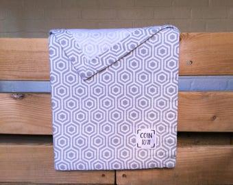 GEOMETRIC / / single layer flannel baby blanket