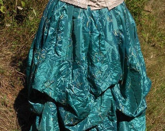 jupe bouffante style elfique, romantique, médiévale ,steampunk   Cape Diem