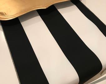 Black and White Striped Table Runner | Black White | Striped Table Runner | Wedding Table Runner | Shower Table Runner | Kates Spades Theme