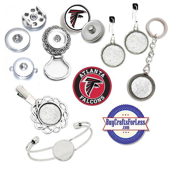 ATLaNTA CHARMs, SNAPs - CHooSE Logo, Choose Charm or, Snap Base  +FREE SHiPPiNG & Discounts*