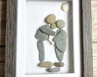 Bespoke pebble art pictures
