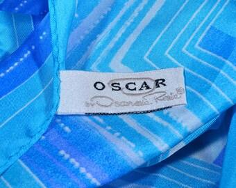 Oscar de la Renta Silk Square Scarf