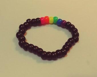 Rainbow Kandi Bracelet