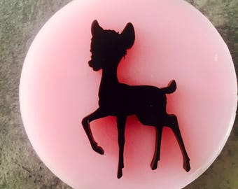 Flexible silicone mold ' cerbiattino '