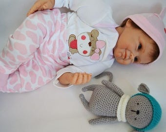 Reborn Doll Baby 22 Inch Silicone Newborn Imitation of the baby