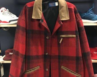 Pendleton wool peacoat