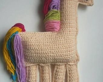 Ragdoll unicorn,hadmade crochet toy