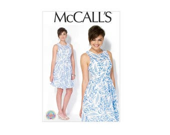McCall's 7088 - Underbust Seam Dress Pattern