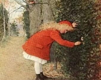 Dollshouse Miniature Book Kit - The Secret Garden