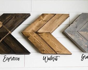 Set of Three Wooden Arrows
