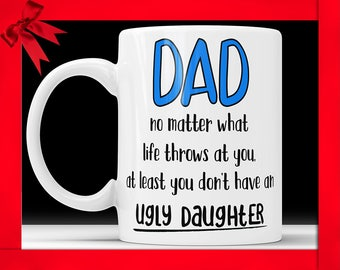 Father Daughter Mug Father Daughter Gifts For Dad From Daughter Fathers Day Gifts Dad Coffee Mug From Daughter Dad Birthday Gifts Daughter