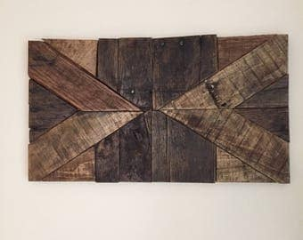 Reclaimed Wood Wall Piece