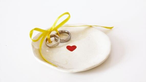 boho wedding wedding ring dish wedding ring dish for your wedding ceramic D 12 cm