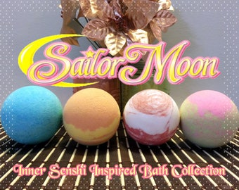 Sailor Moon Inner Senshi Bath Collection