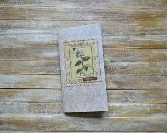 Midori, Traveler's Notebook Insert, Midori Insert, TN, Junk Journal, Vintage Junk Journal, One Signature, Floral Insert, Floral Junk Journal