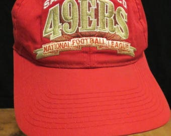 San Francisco 49ers National Football League Cap Hat Red Officially Licensed Product Canada Snapbuck