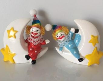Vintage clown Money boxes 1980's   , 80's,