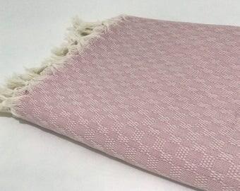 Cotton Turkish towel, beach towel, pool towel, swim towel, hammam towel, peshtemal, bath towel, fauta, yoga, gym, surf
