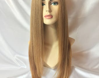 Lace wig Light Golden blonde(virgin Hair)